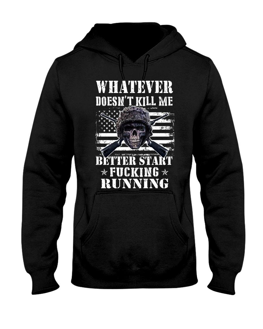 WHAT DOESN'T KILL ME Hooded Sweatshirt