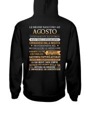 ITALIAN-QUEENS-BORN-8 Hooded Sweatshirt back