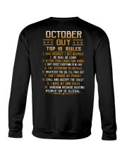 US-GUY RULES-10 Crewneck Sweatshirt thumbnail