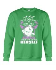 Love you more than herself Crewneck Sweatshirt thumbnail