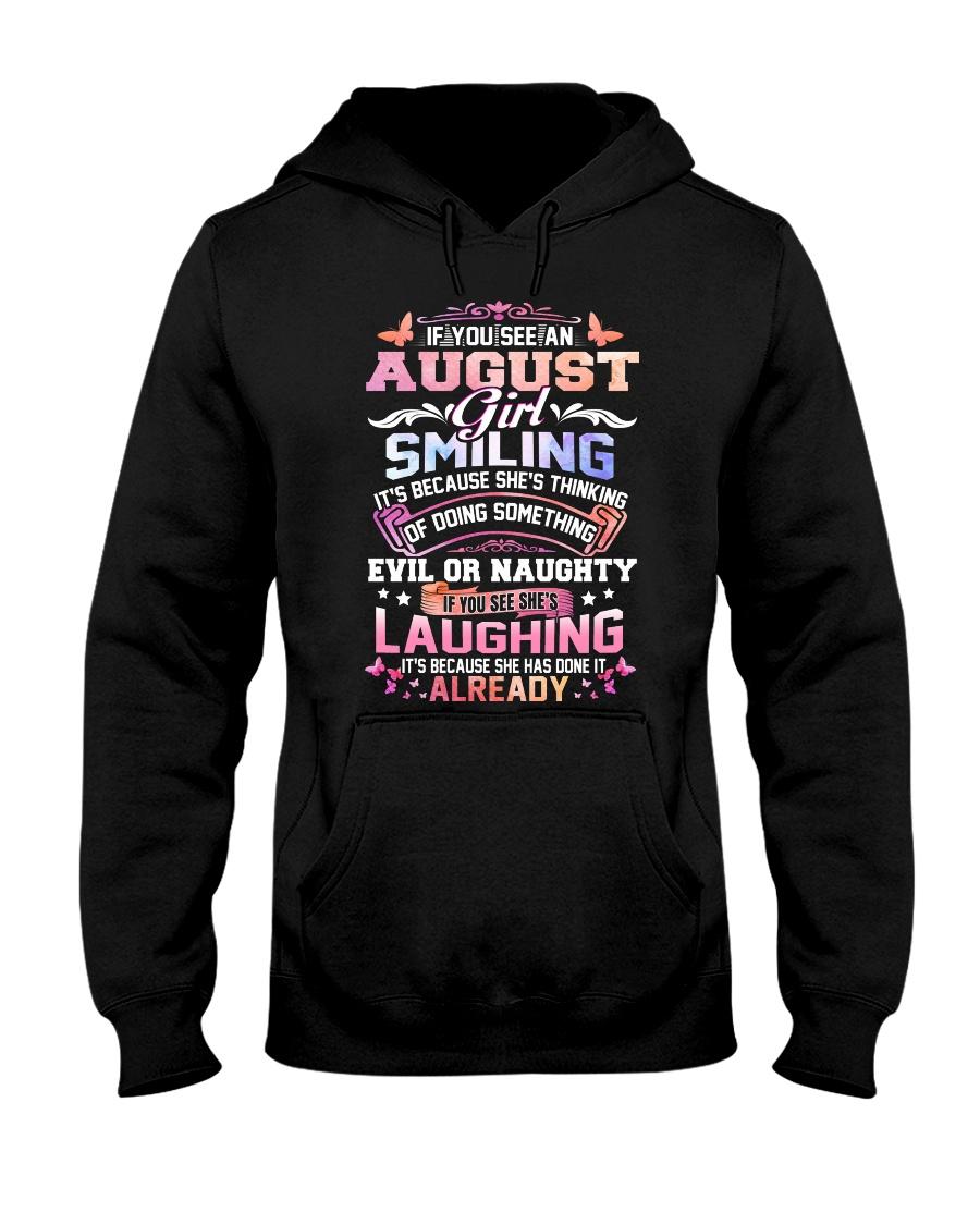 MONTH-GIRL-8 Hooded Sweatshirt