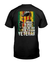 I WALKED THE WALK Classic T-Shirt thumbnail