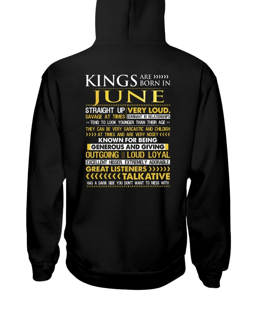 US-ROYAL-BORN-KING-6 Hooded Sweatshirt