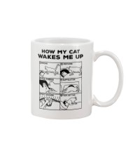 HOW MY CAT WAKES ME UP Mug thumbnail
