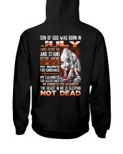 SON OF GOD - US - 7 Hooded Sweatshirt back