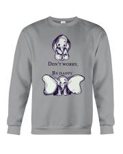 DON'T WORRY- ELEPHANT Crewneck Sweatshirt thumbnail