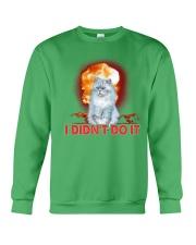 CAT AND THE EXPLOSION Crewneck Sweatshirt thumbnail