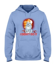 CAT AND THE EXPLOSION Hooded Sweatshirt thumbnail