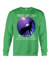CRAZY CAT LADY Crewneck Sweatshirt thumbnail