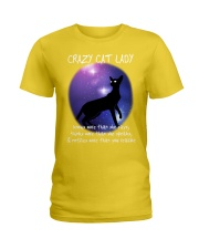 CRAZY CAT LADY Ladies T-Shirt thumbnail
