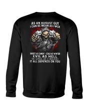 MEAN GUY-8 Crewneck Sweatshirt thumbnail