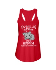 YOU SMELL-CAT Ladies Flowy Tank thumbnail