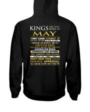 TTRUE-KING-5 Hooded Sweatshirt back
