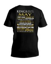 TTRUE-KING-5 V-Neck T-Shirt thumbnail
