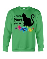 A LITTLE BLACK CAT Crewneck Sweatshirt thumbnail