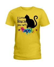 A LITTLE BLACK CAT Ladies T-Shirt tile