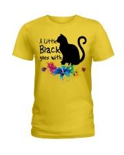 A LITTLE BLACK CAT Ladies T-Shirt thumbnail