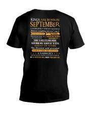 TES-US-KING BORN-9 V-Neck T-Shirt thumbnail