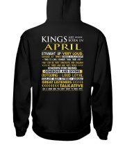 US-ROYAL-BORN-KING-4 Hooded Sweatshirt back