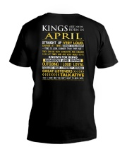 US-ROYAL-BORN-KING-4 V-Neck T-Shirt thumbnail