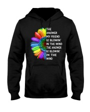 MY FRIEND-THE WIND Hooded Sweatshirt front