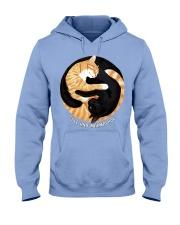 BLACK-YELLOW CAT Hooded Sweatshirt thumbnail
