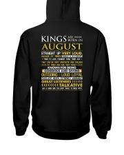 US-ROYAL-BORN-KING-8 Hooded Sweatshirt back