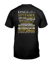 US-LOUD-KING-9 Classic T-Shirt back