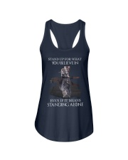 STAND UP FOR WHAT YOU BELIEVE IN - CAT Ladies Flowy Tank thumbnail