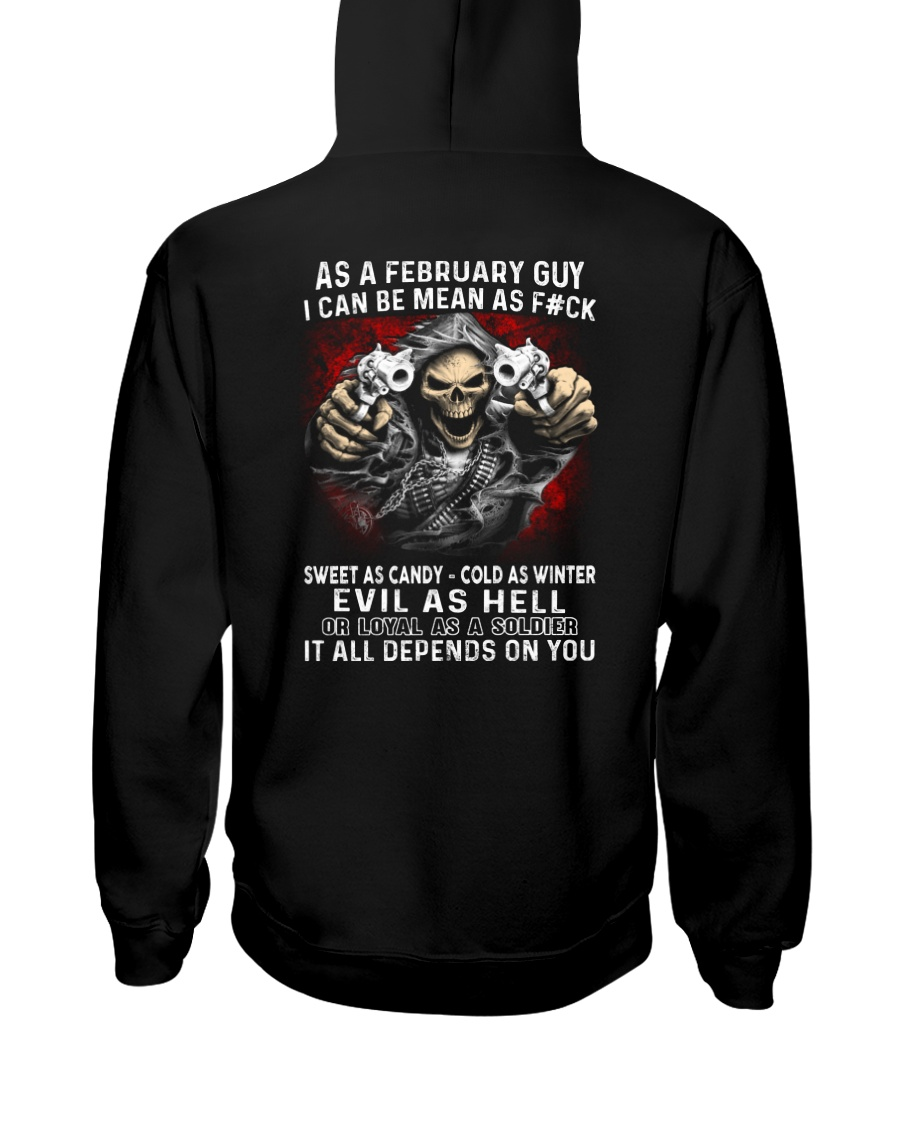 MEAN GUY-2 Hooded Sweatshirt