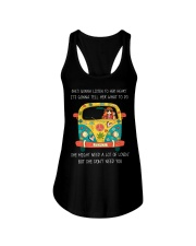 SHE DONT NEED YOU Ladies Flowy Tank tile