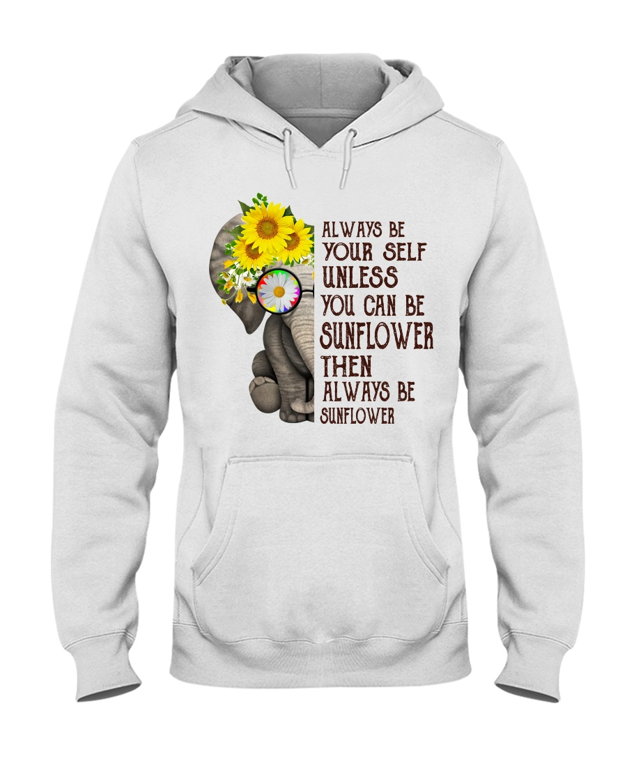 ALWAY BE SUNFLOWER Hooded Sweatshirt