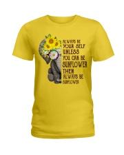 ALWAY BE SUNFLOWER Ladies T-Shirt thumbnail