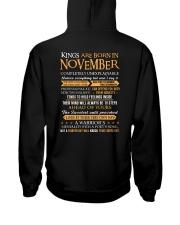 TES-KING BORN-US-11 Hooded Sweatshirt back