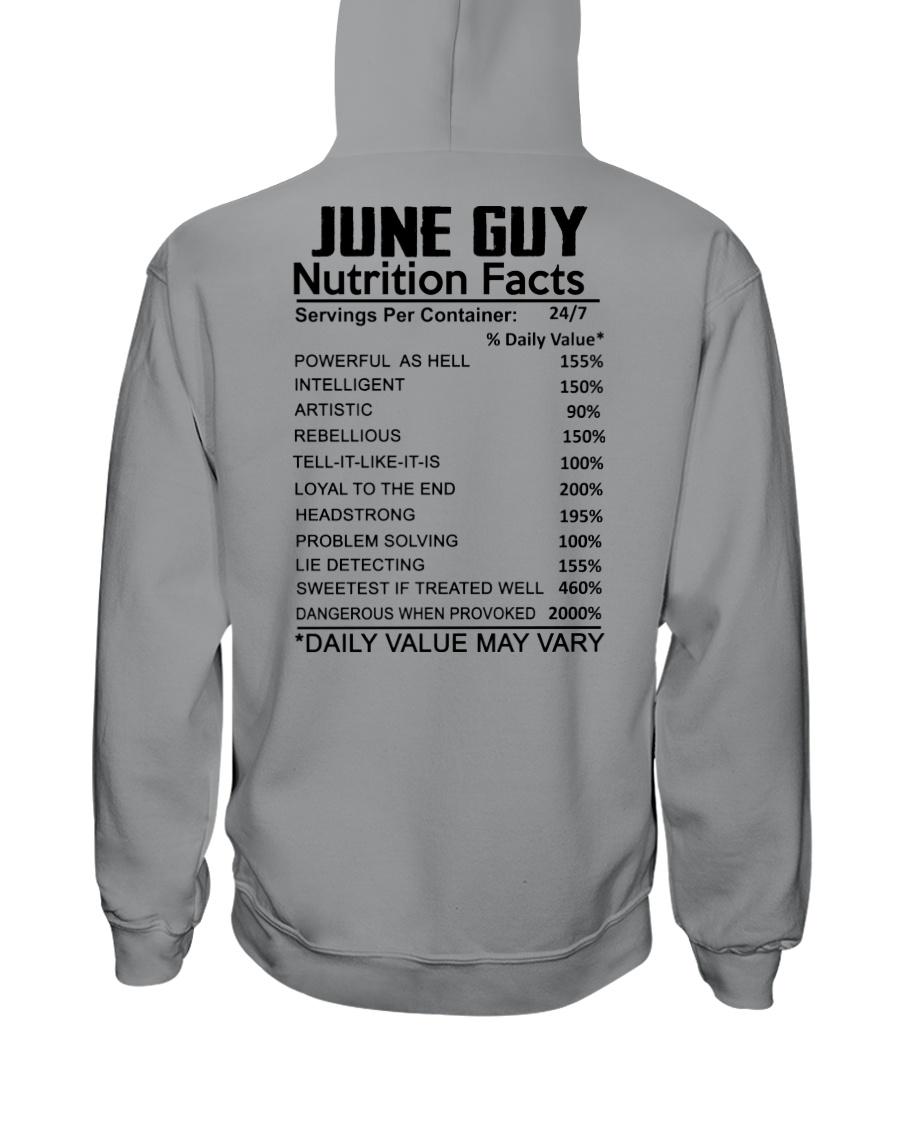 W-GUY FACT US-6 Hooded Sweatshirt
