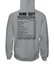 W-GUY FACT US-6 Hooded Sweatshirt back