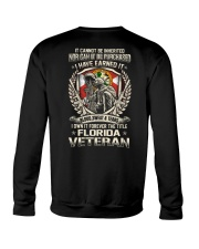 FLORIDA VETERAN Crewneck Sweatshirt thumbnail