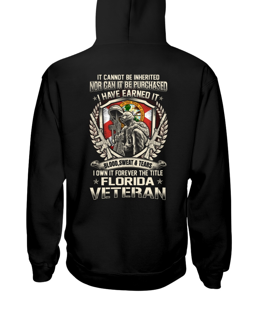 FLORIDA VETERAN Hooded Sweatshirt