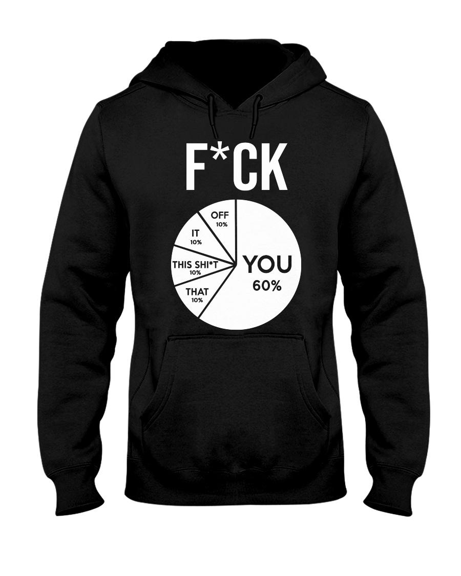 FCUK YOU T-SHIR Hooded Sweatshirt