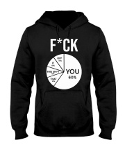 FCUK YOU T-SHIR Hooded Sweatshirt front