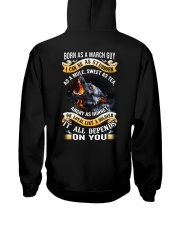 US-GUY-BORN-AS-3 Hooded Sweatshirt thumbnail