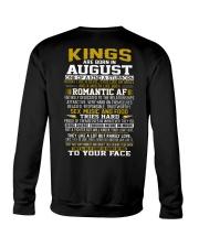 KING BORN IN-AUGUST Crewneck Sweatshirt thumbnail