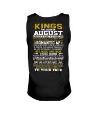 KING BORN IN-AUGUST Unisex Tank thumbnail