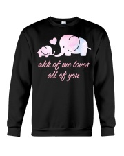 ALL OF YOU -ELEPHANT Crewneck Sweatshirt thumbnail