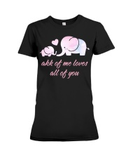 ALL OF YOU -ELEPHANT Premium Fit Ladies Tee thumbnail