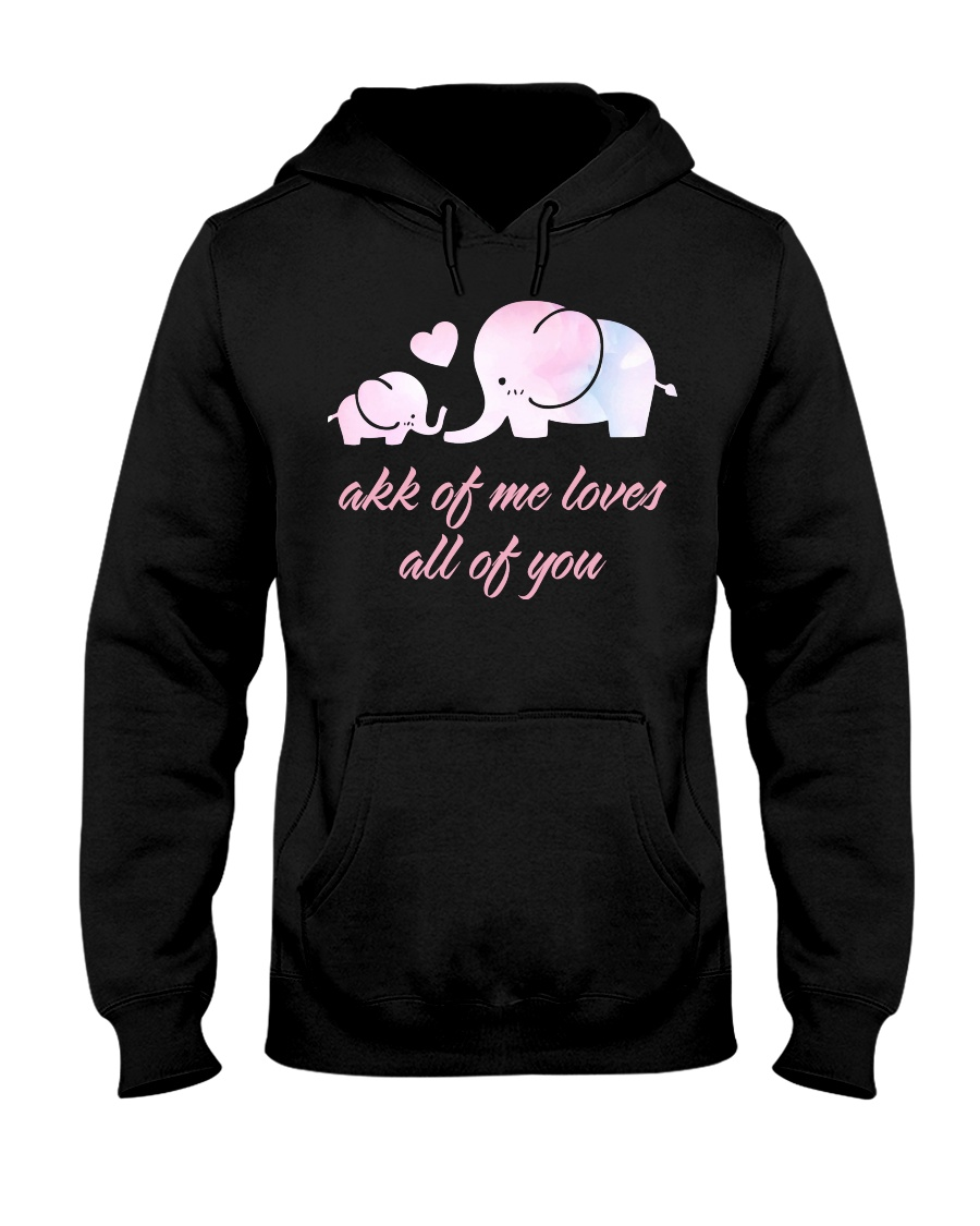 ALL OF YOU -ELEPHANT Hooded Sweatshirt