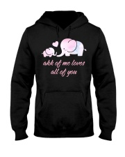 ALL OF YOU -ELEPHANT Hooded Sweatshirt front