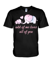 ALL OF YOU -ELEPHANT V-Neck T-Shirt thumbnail