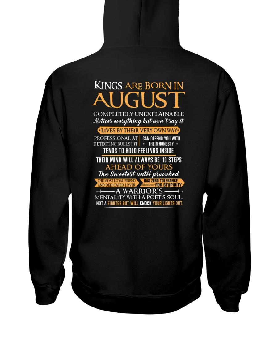 KING BORN US-8 Hooded Sweatshirt