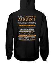KING BORN US-8 Hooded Sweatshirt back